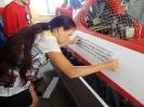 10. června 2013 bylo provedeno označení záchranářského vznášedla logy dle pravidel povinné publicity děčínskou firmou AVI Grafik s.r.o.