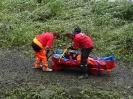 Od 10. června 2013 monitorovala posádka vznášedla při povodni na Labi odříznuté lokality a městské části Děčína - Loubí, Podskalí, Dolní Žleb a Prostřední Žleb, prověřovala zaplavené nemovitosti, dopravní komunikace, zjišťovala stav telefonního spojení a