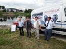 slavnostní předání pracovního motorového člunu 30. srpna 2012 v Děčíně pro Jednotku sboru dobrovolných hasičů Děčín XI - Horní Žleb v rámci projektu